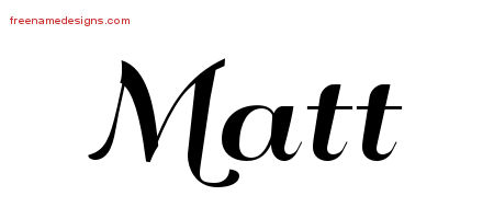 art deco name tattoo designs matt graphic download free name designs. Black Bedroom Furniture Sets. Home Design Ideas