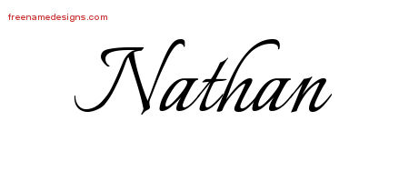 calligraphic name tattoo designs nathan free graphic free name designs. Black Bedroom Furniture Sets. Home Design Ideas