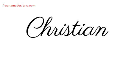 Classic Name Tattoo Designs Christian Printable - Free ...