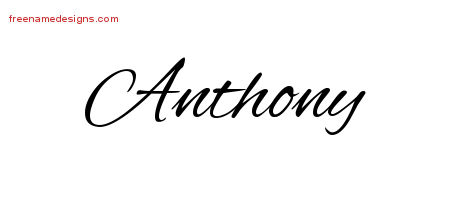 how to write anthony in graffiti
