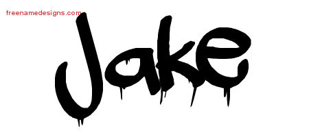 graffiti name tattoo designs jake free free name designs. Black Bedroom Furniture Sets. Home Design Ideas