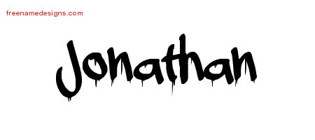 Name Jonathan Tattoo Jonathan Graffiti Name Tattoo