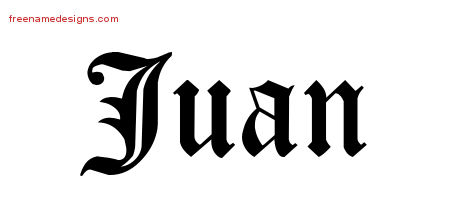 blackletter name tattoo designs juan graphic download
