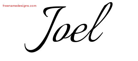 calligraphic name tattoo designs joel download free free name designs. Black Bedroom Furniture Sets. Home Design Ideas