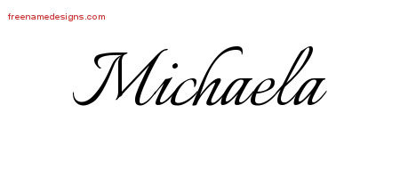 what is the meaning of the name michaela