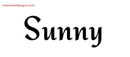 calligraphic stylish name tattoo designs sunny download free free name designs. Black Bedroom Furniture Sets. Home Design Ideas