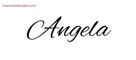 Meaning Of The Name Angela Picture And Images