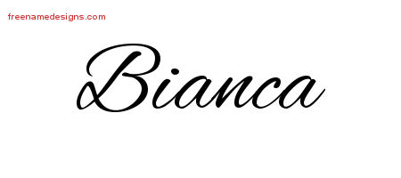 bianca s name pictures to pin on pinterest tattooskid