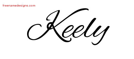 Cursive Name Tattoo Designs Keely Download Free