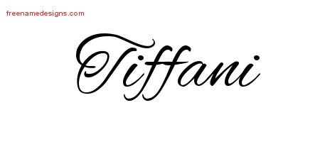 cursive name tattoo designs tiffani download free free name designs. Black Bedroom Furniture Sets. Home Design Ideas