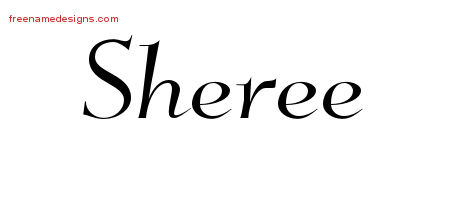 Sheree Elegant Name Tattoo Designs