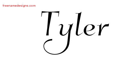 elegant name tattoo designs tyler free graphic free name designs. Black Bedroom Furniture Sets. Home Design Ideas
