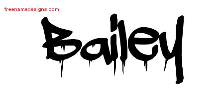 Graffiti Name Tattoo Designs Bailey Free Lettering - Free ...