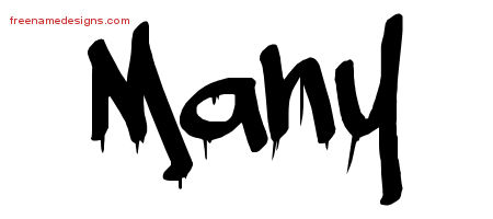 Many Graffiti Name Tattoo Designs