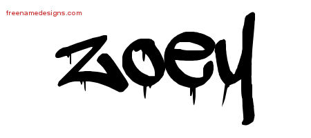 graffiti name tattoo designs zoey free lettering free name designs. Black Bedroom Furniture Sets. Home Design Ideas