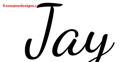 lively script name tattoo designs jay free printout free name designs. Black Bedroom Furniture Sets. Home Design Ideas