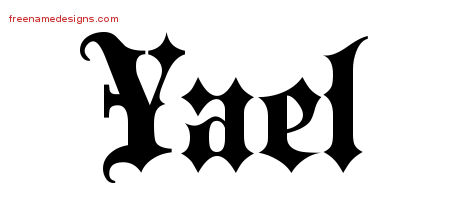 -name-design Old English Letters Template on