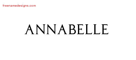 regal victorian name tattoo designs annabelle graphic download free name designs. Black Bedroom Furniture Sets. Home Design Ideas