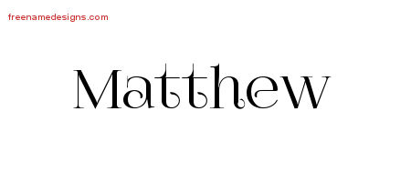 vintage name tattoo designs matthew free download free name designs. Black Bedroom Furniture Sets. Home Design Ideas